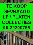 Inkoop van lp & single collecties. info: 0622-200785
