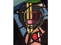 Wilson tennis racket (COLLECTION ONLY)