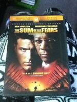 The Sum of all Fears–Widescreen–Special collection's editionDVD