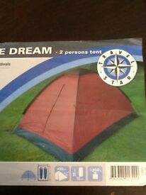 double dream 2 person tent