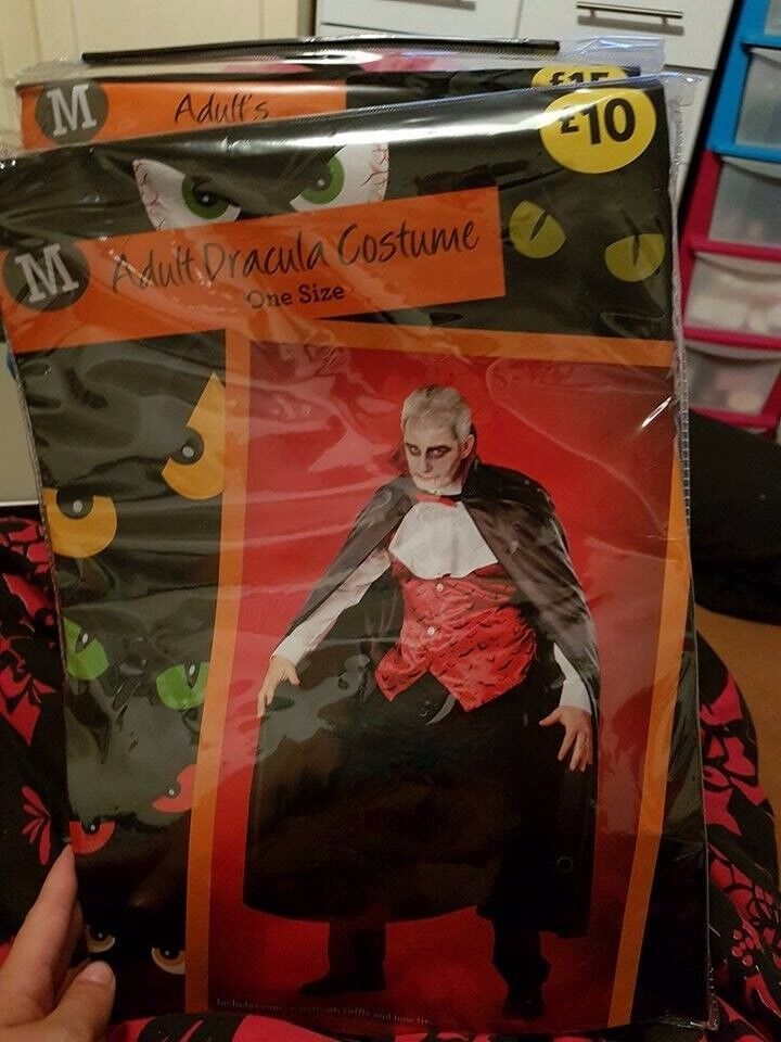 mens halloween costume one size