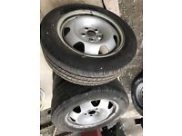Volkswagen Transporter T6 Wheels and Tyres