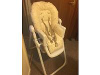 Teddy Toy box highchair