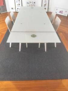 Dining Table & 4 Chairs - Purchased at Design Initial, The Valley Redland Bay Redland Area Preview