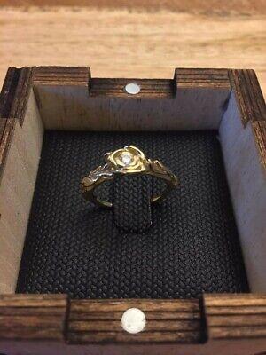 Doran Morav Vintage/Art Noveau inspired 18k gold ring