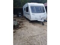 2008 Sterling Europa 460/2 2 berth caravan AWNING VGC FIRST TO SEE WILL BUY Bargain !