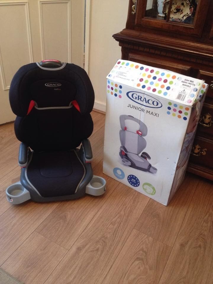 * Graco Child's Booster Seat and Box *