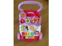 Vtech First Step Walker in pink. Excellent condition as hardly used!
