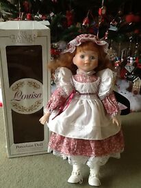 Beautiful Porcelain collector Doll (Louisa)