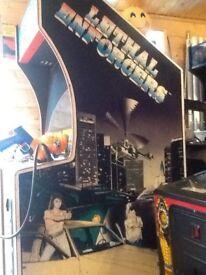 Retro Mancave shooting Arcade machine