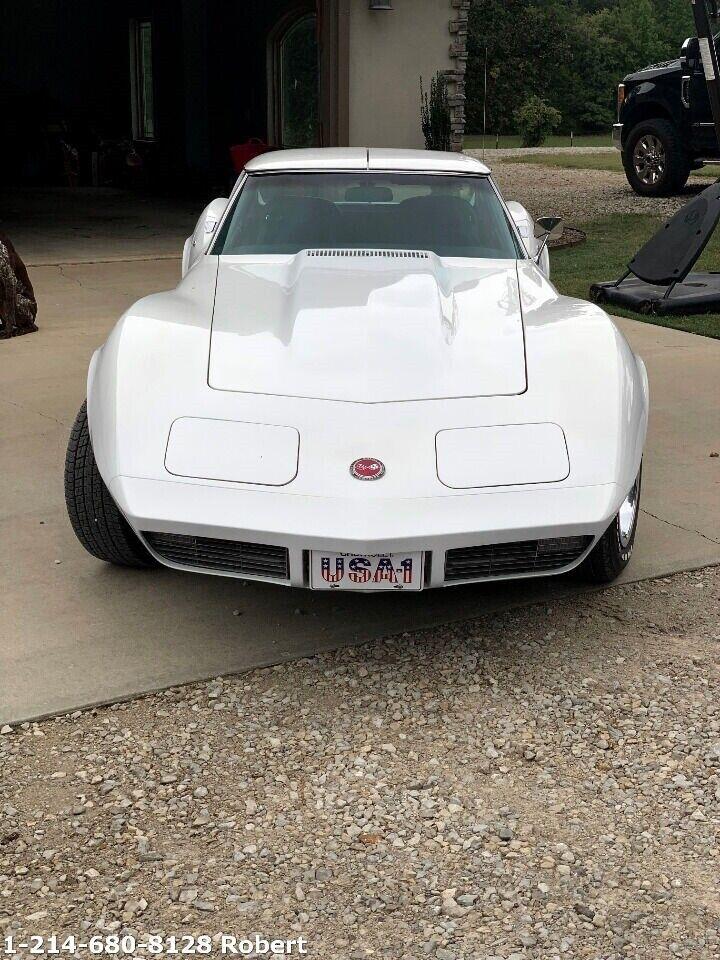 1973 White Chevrolet Corvette   | C3 Corvette Photo 6