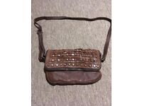 vilenca holland brown genuine leather handbag for sale!