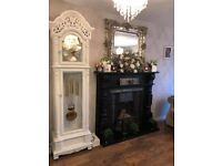 Rococo large double framed mirror shabby chic