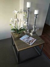 BRAND NEW SOLID HARDWOOD INDUSTRIAL CHIC COFFEE LAMP TABLES Casuarina Kwinana Area Preview