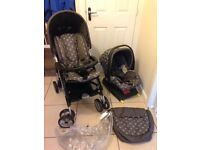 Mamas & papas travel system, with isofix base. Very good condition