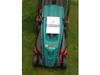 Bosch rotak electric lawn mower 18 months old