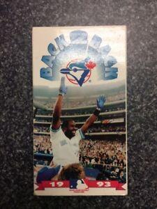 MLB Toronto Blue Jays 1992-1993 World Series VHS Tape