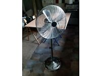 Chrome Fan , metal blades , stylish