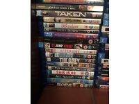 Large Blu-Ray collection 100+ (Disney and box sets not included)