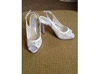Wedding bridal shoes size 3 brand new
