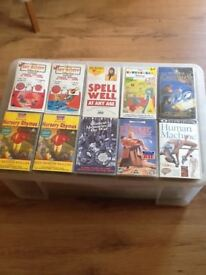 29 VHS Children's Video tapes