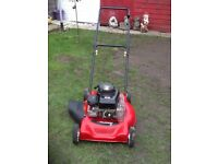 """Murray 50 petrol lawnmower cut 20"""" works great can be seen working great cond cb5 £65"""
