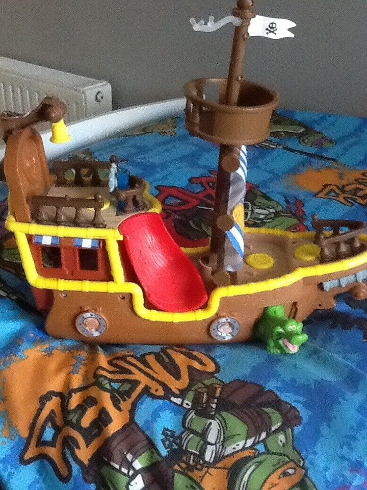 Jake and the neverland boat