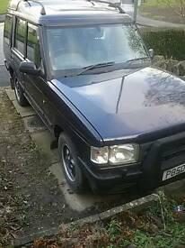 Land rover discovery 3.9 LPG