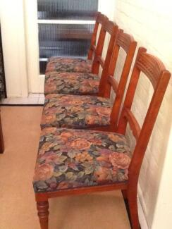 Dining Chairs (Victorian) X 4