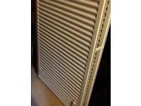 Unused radiator