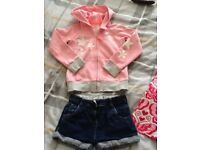 Girls bundle clothing age 5-6yrs