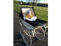 Royale Coach Built Pram , baby ready . head turner, ideal Christmas present for a special arrival