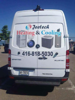 Jeetech heating and cooling services.