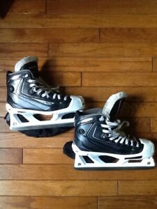 Intermediate/junior goalie skates