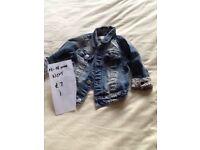 12-18 months girls denim jacket NEXT.
