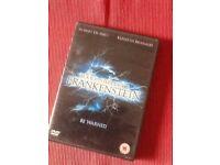 Mary shelley's Frankenstein dvd