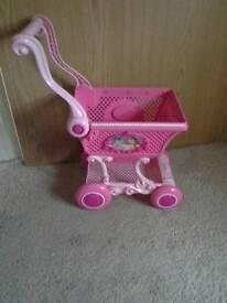 Princess shopping trolley