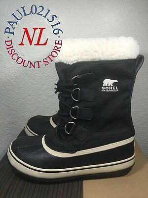 Sorel Winter Carnival Womens Waterproof Boots Black  Various Sizes