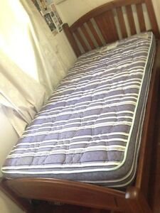 King single bed and mattress Keperra Brisbane North West Preview