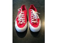 Red/Pink 'NIKE' Girls Converse Trainers...