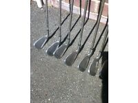 complete set of irons, 3 to sandwedge, imported from U.S., PG5 make, very good condition