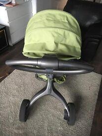 Stokke Xplory v1 - Pushchair with FREE Maclaren Stroller