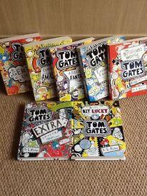 Tom Gates books, excellent condition.