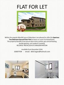 Two Bed Flat for Let