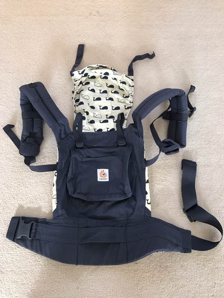 detailing 64050 7cd31 Ergo baby Original Baby Carrier  Marine