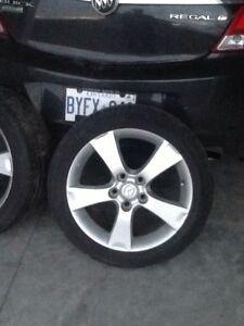 "For sale - Four 17"" Mazda 3 rims,"