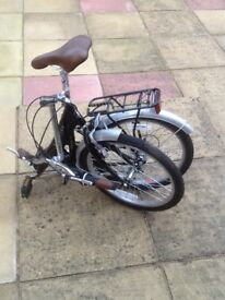 Folding bike and accessories