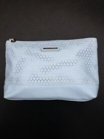 Light Blue Cosmetics Bag By Atmosphere