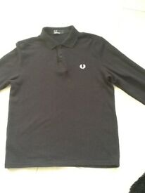 Fred Perry Long sleeved Polo shirt.