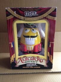 M&M Yellow Nutcracker Sweet Dispenser Collectable Figure/Toy